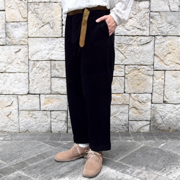 【2019 AW】 too good(トゥーグッド) / THE BRICKLAYER TROUSER JUMBO CORD -FLINT- #62034235