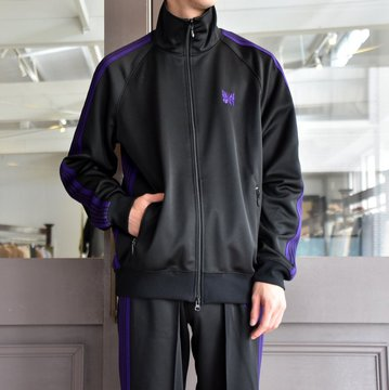NEEDLES(ニードルス) TRACK JACKET-POLY SMOOTH-BLACK/#FK192