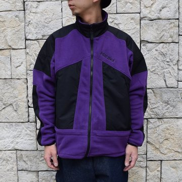 Marmot(マーモット)/ALPINIST TECH SWEATER  -PURPLE×BLACK-