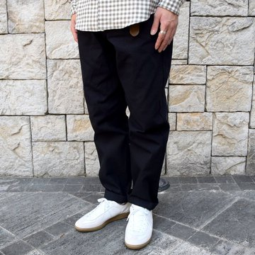 【2019 SS】BROWN by 2-tacs (ブラウンバイツータックス) WIDE -BLACK- #B22-P003