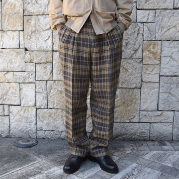 【2020 SS】KAPTAIN SUNSHINER / Riviera Trousers  KS20SPT05