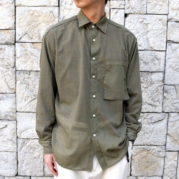 【2020 SS】YOKE(ヨーク)/ OVERSIED CHECK SHIRTS -YELLOW- #YK20SS0088SH