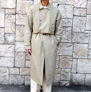 【2020 SS】YOKE(ヨーク)/ DETACHABLE DUSTER COAT -BEIGE- #YK20SS0090C