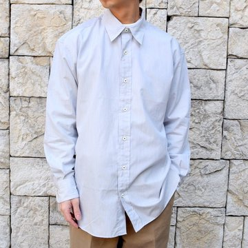【2020 SS】MAATEE&SONS(マーティーアンドサンズ)/REGULAR COLLAR SHIRT -GRAY- #MT0103-0601A