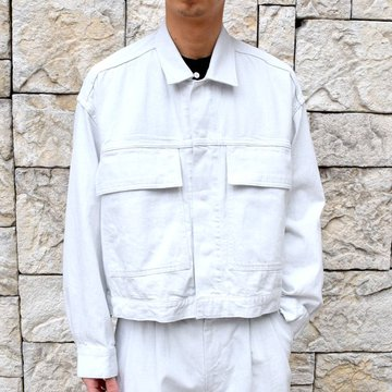 【2020 SS】YOKE(ヨーク)/ WIDE DENIM BLOUSON -2色展開- #YK20SS0104B
