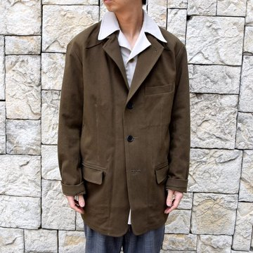 【2020 SS】HOMELESS TAILOR(ホームレステイラー)/ STEAL PK JACKET -KHAKI- #HTKS-002