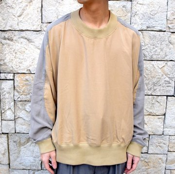 【2020 SS】HOMELESS TAILOR(ホームレステイラー)/ ROUND SHOULDER CREW #HTKS-005