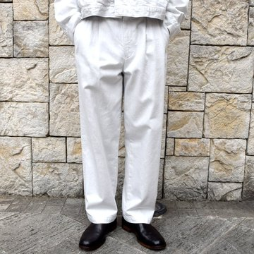 【2020 SS】YOKE(ヨーク)/ 2TUCK WIDE TROUSERS -2色展開- #YK20SS0105P