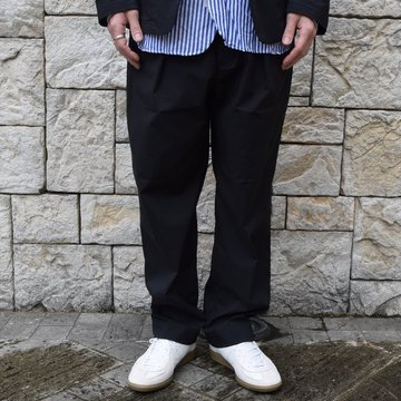 【2020 SS】 A VONTADE(ア ボンタージ)/ COMFORT WIDE EASY TROUSERS -BLack- #VTD-0423-PT