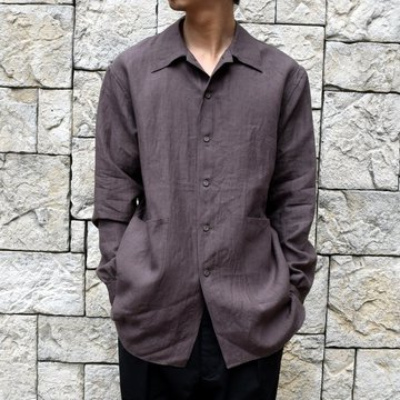 【30% off sale】【2020】 A VONTADE(ア ボンタージ)/ GARDEN SHIRT -SEPIA- #VTD-0311-SH