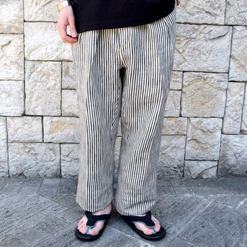 【2020 SS】NEAT(ニート)/ JAPANESE HOMSPUN WIDE -NAVY×WHITE- #20-01JHW