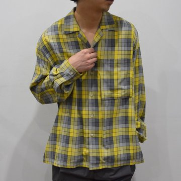 YOKE(ヨーク)/OVER SIZED SHIRTS-YELLOW- #YK20SS0094SH