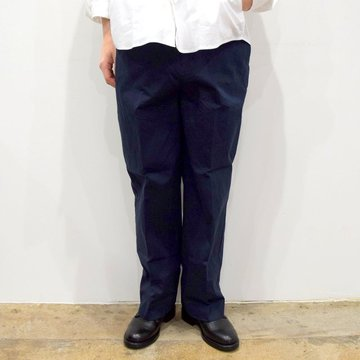 【2020】YAECA (ヤエカ)/ CHINO CLOTH PANTS CREASED -NAVY- #10605