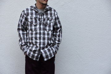 【2020SS】AiE(エーアイイー) SW SHIRT-SHADOW PLAID- GL536