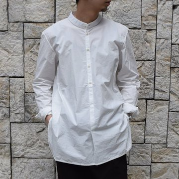【2020】 toogood(トゥーグッド)/ THE BOTANIST SHIRT POPLIN -CHALK-