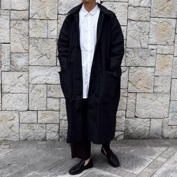 【2020】 toogood(トゥーグッド)/ THE PLOUGHMAN COAT COTTON RIPSTOP -FLINT-