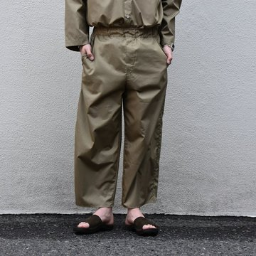 【2020 SS】 Cristaseya(クリスタセヤ)/LIGHT COTTON MOROCCAN PAJAMA PANTS -Light khaki- #02DA-C