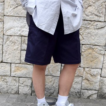 【2020 SS】NEAT(ニート)/ COTTON PIQUE CARGO SHORTS -NAVY- #20-01CPC