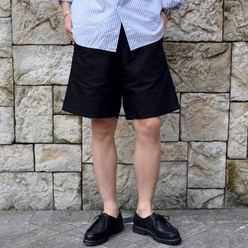 YAECA (ヤエカ)/ CLIMBING SHORTS -BLACK- #10602BLK