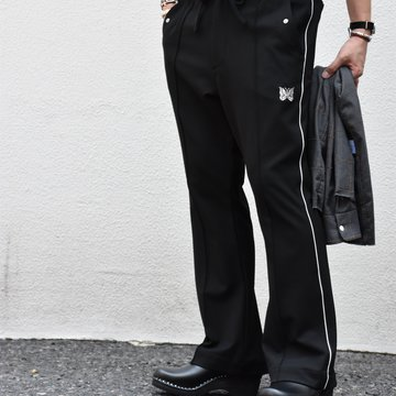 【2020】NEEDLES(ニードルス) Piping cowboy pants -BLACK- #HM-135