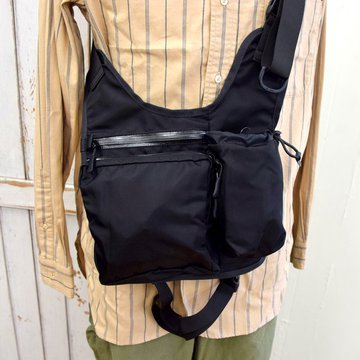 bagjack(バッグジャック)/ 2 Way Body Shoulder Bag -BLACK- #06192