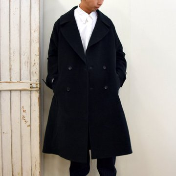 【2020】Graphpaper(グラフペーパー)/ DOUBLE CLOTH MOLESKIN COAT -2色展開-#GM203-10022B