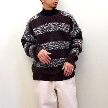 E. TAUTZ(イートウツ)/ CREW NECK WOOL KNIT 6311102002