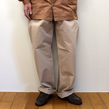 E. TAUTZ(イートウツ)/ FIELD TROUSER-BEIGE-  6311702009-BE