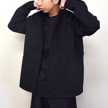 toogood(トゥーグッド)/ THE LOCKSMITH SHIRT WOOL COTTON DRILL -FLINT- #6205200