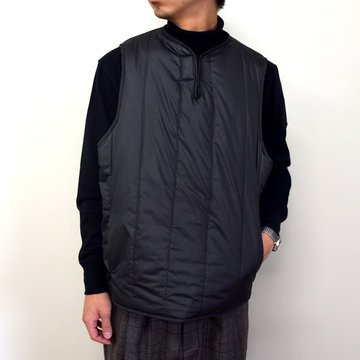 YOKE(ヨーク)/ REVERSIBLE FRENCH ARMY VEST -BLACK- #YK20AW0153V