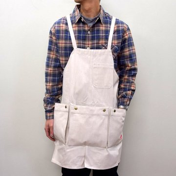 BROWN by 2-tacs (ブラウンバイツータックス)/ DCP APRON -OFF WHITE- #B24-W003