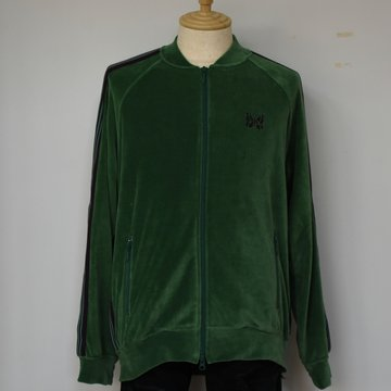 [2021]NEEDLES(ニードルス) R.C. TRACK JACKET C/PE VELOUR -GREEN- #IN185