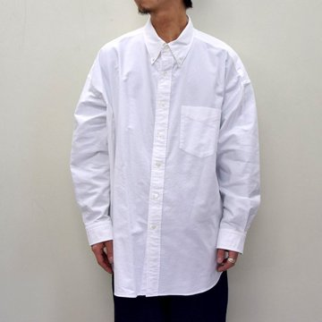 Graphpaper (グラフペーパー)/ OXFORD OVERSIZED B.D SHIRT -2色展開- #GM211-50113B