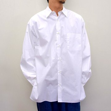 MARKAWARE(マーカウェア)/ COMFORT FIT SHIRT -WHITE- #A21A-07SH01C