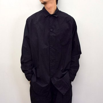 TEATORA(テアトラ)/ CARTRIDGE SHIRT P -BLACK- #TT-SHT-P