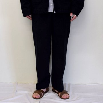 MARKAWARE(マーカウェア)/ DOUBLE PLEATED TROUSERS -BLACK- #A21A-02PT01C