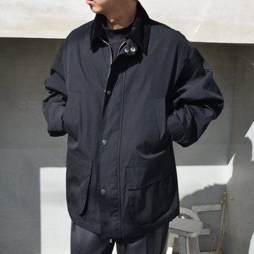 MARKAWARE(マーカウェア)/ WAYFARER COAT II -BLACK- #A21A-01CO02C