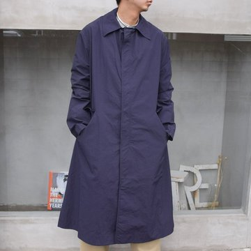 STUDIO NICHOLSON(スタジオニコルソン)/ TECHNICAL NYLON COAT -INDIGO- #SNM-538