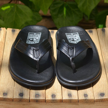 ISLAND SLIPPER (アイランドスリッパー) Men's Thong -BLACK-