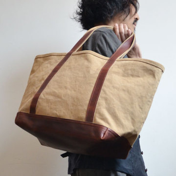 ARTS & CRAFTS(アーツアンドクラフト)AGING CANVAS / BASIC TOTE TAN