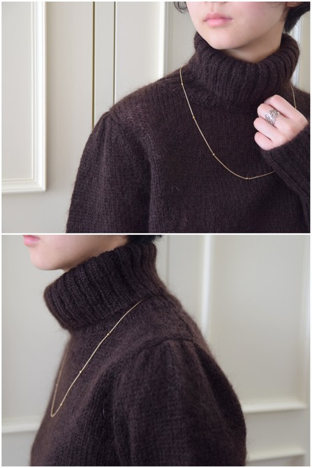 【50%OFF SALE】Bilitis dix-sept ans(ビリティス・ディセッタン) Mohair Turtle Neck(2色展開)2914-509【K】(10)