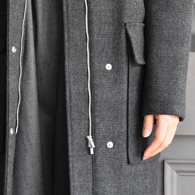 TENNE HANDCRAFTED MODERN(テン ハンドクラフテッドモダン) SUPER 140'S FOODED COCOON COAT(10)