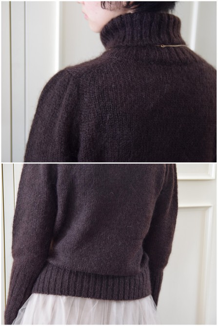 【50%OFF SALE】Bilitis dix-sept ans(ビリティス・ディセッタン) Mohair Turtle Neck(2色展開)2914-509【K】(11)