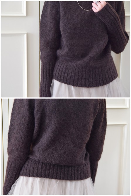 【50%OFF SALE】Bilitis dix-sept ans(ビリティス・ディセッタン) Mohair Turtle Neck(2色展開)2914-509【K】(12)