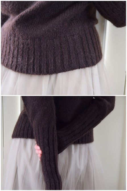 【50%OFF SALE】Bilitis dix-sept ans(ビリティス・ディセッタン) Mohair Turtle Neck(2色展開)2914-509【K】(13)