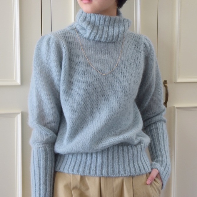 【50%OFF SALE】Bilitis dix-sept ans(ビリティス・ディセッタン) Mohair Turtle Neck(2色展開)2914-509【K】(1)