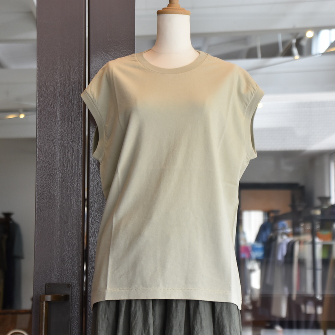 AURALEE(オーラリー) SEAMLESS CREW NECK SLEEVELESS #A9ST07ST(4色展開)(1)