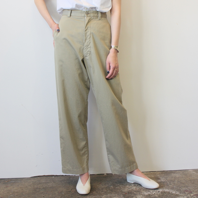 MADISONBLUE(マディソンブルー)CHINO HIGHWAIST PANTS_MB191-3031_MB191-3031【K】(1)