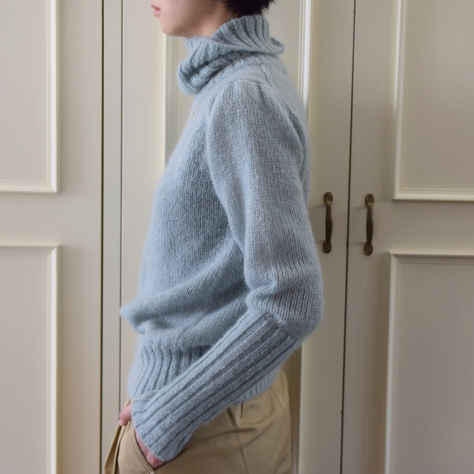 【50%OFF SALE】Bilitis dix-sept ans(ビリティス・ディセッタン) Mohair Turtle Neck(2色展開)2914-509【K】(2)