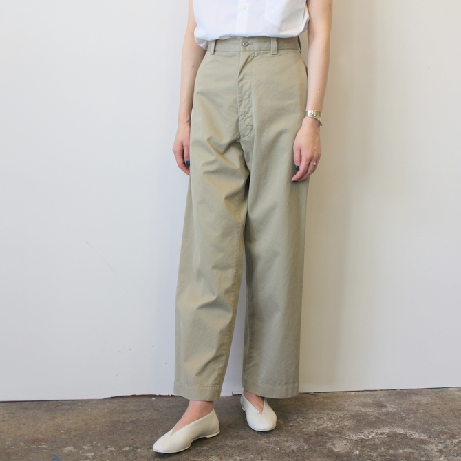 MADISONBLUE(マディソンブルー)CHINO HIGHWAIST PANTS_MB191-3031_MB191-3031【K】(2)